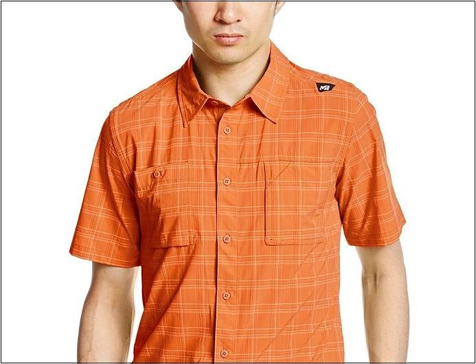 登山ファッション ミレーやまシャツ