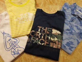 ノースフェイスのTシャツ4枚