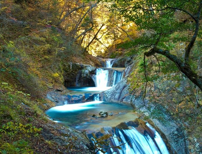 森林浴ができる西沢渓谷