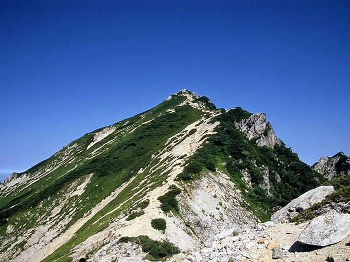 北アルプス 唐松岳