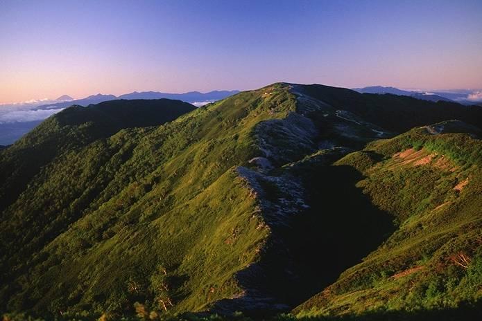 北アルプス 蝶ヶ岳
