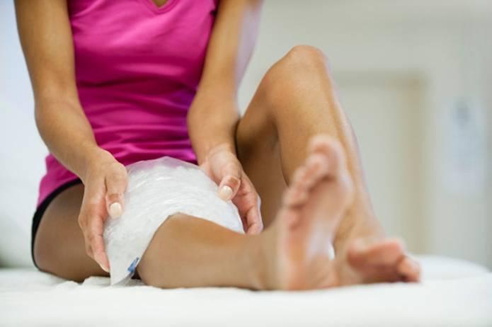 膝の痛み 対策冷やす