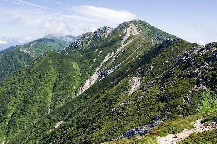 中央アルプス 空木岳