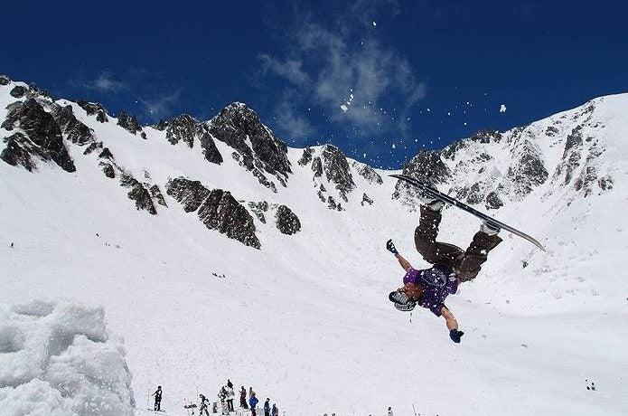 中央アルプス 千畳敷カール春スキー
