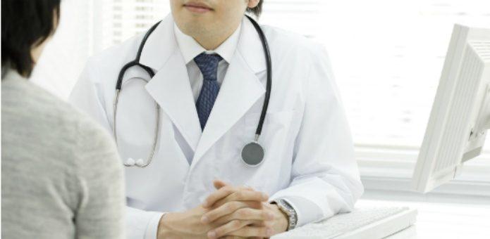 ライム病で医師に相談している人