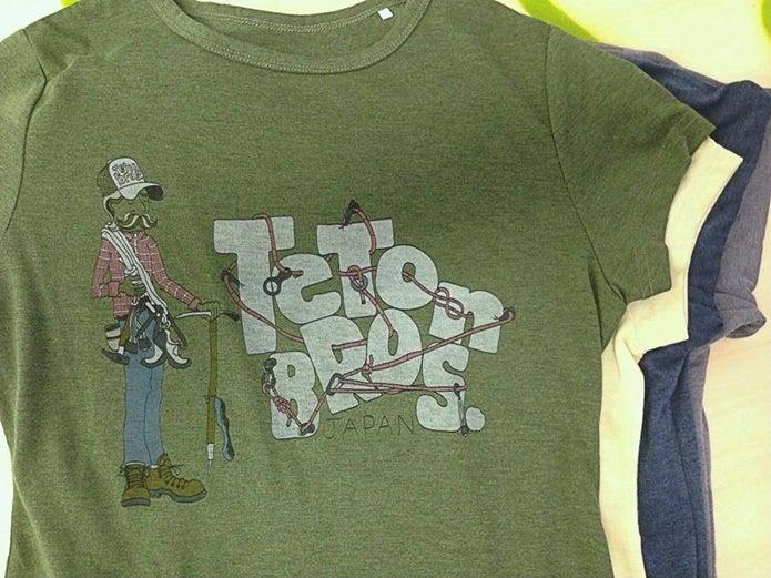 ティートンブロスのTシャツ3種類