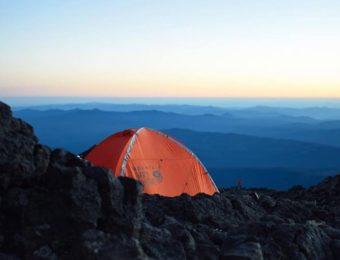 マウンテンハードウェアのテント