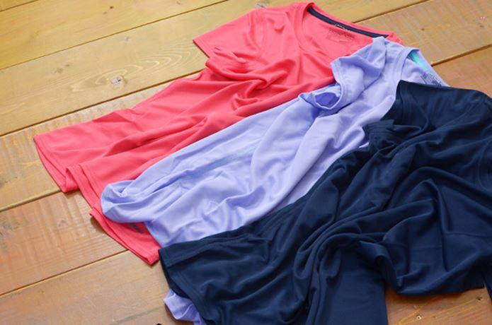 パタゴニアの速乾Tシャツ3色