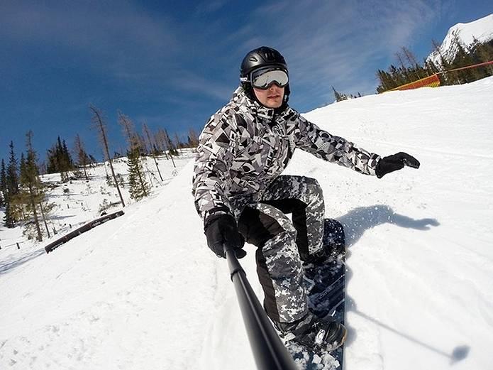 高原 冬スキー