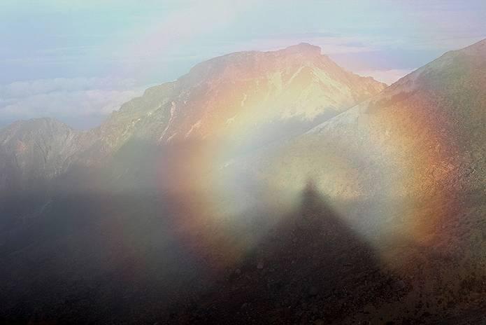 山の用語クイズ ブロッケン現象