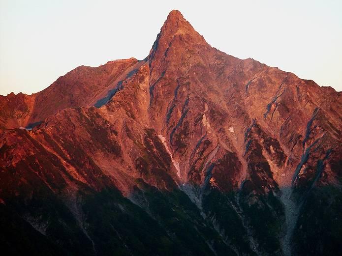 山の用語集 モルゲンロート