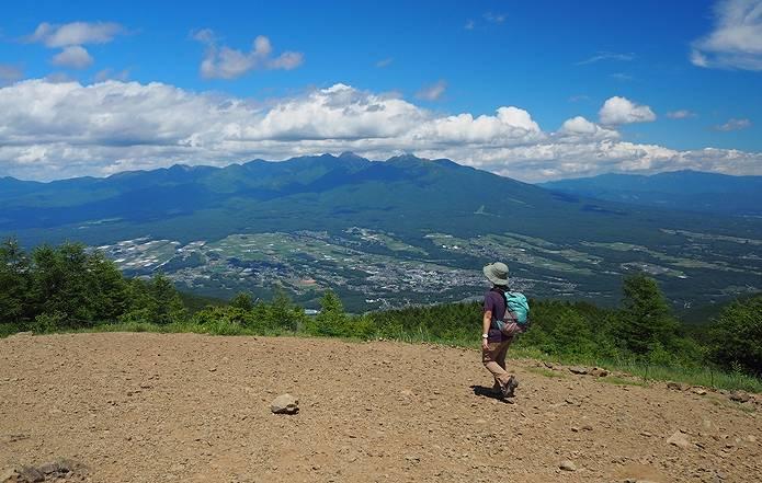 入笠山 八ヶ岳の展望