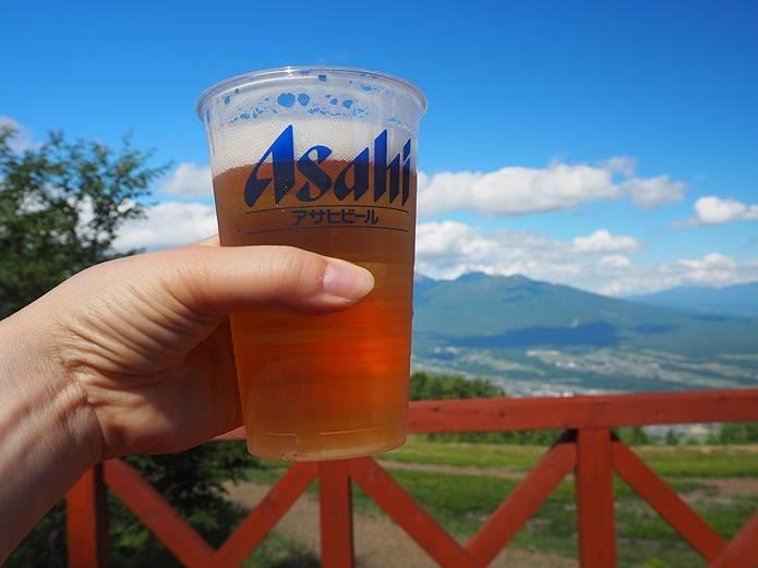 入笠山 生ビール