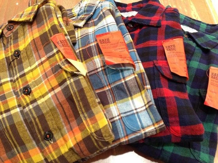 ネルシャツ4枚