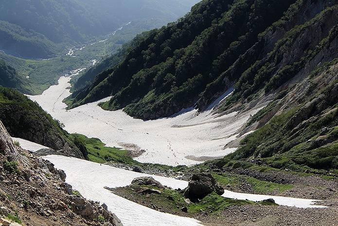 山の用語集 雪渓