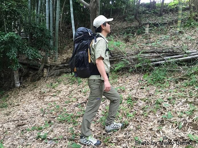 登山 歩き方 正しい姿勢