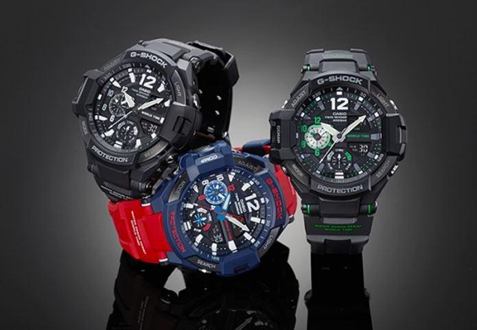 G-SHOCKの腕時計3つ