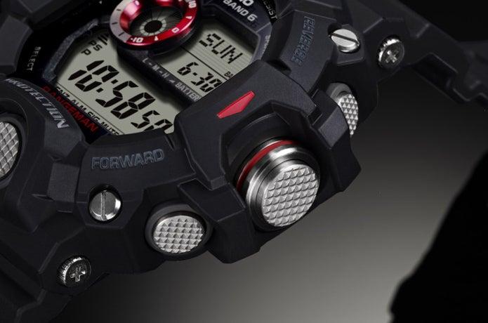 G-SHOCKの腕時計のサイドの部分