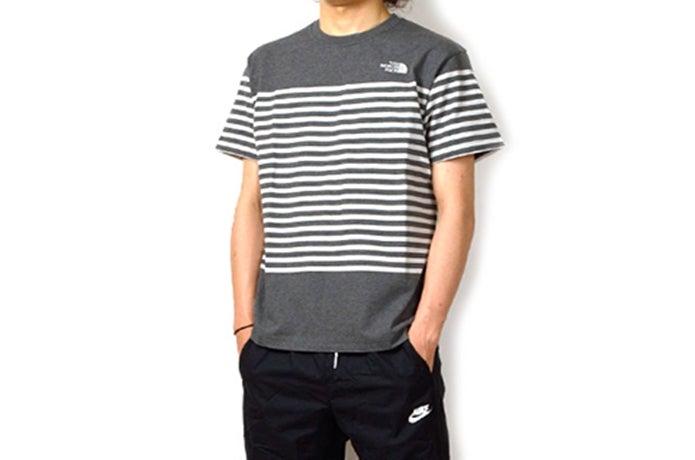 ノースフェイスの速乾Tシャツの画像