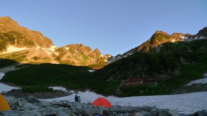 登山ツアー 北穂高岳