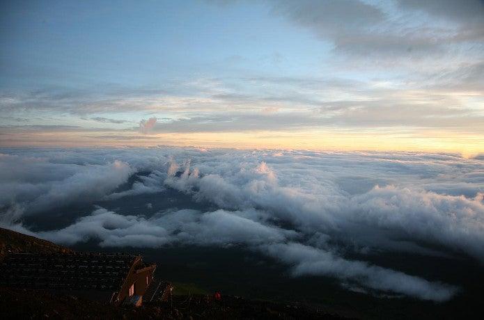 山の用語集 雲海