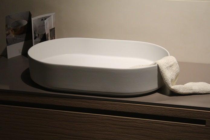 リュック洗濯 タオルを浸す