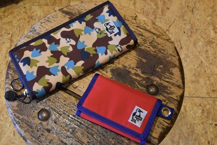 チャムスの長財布と小さめの財布