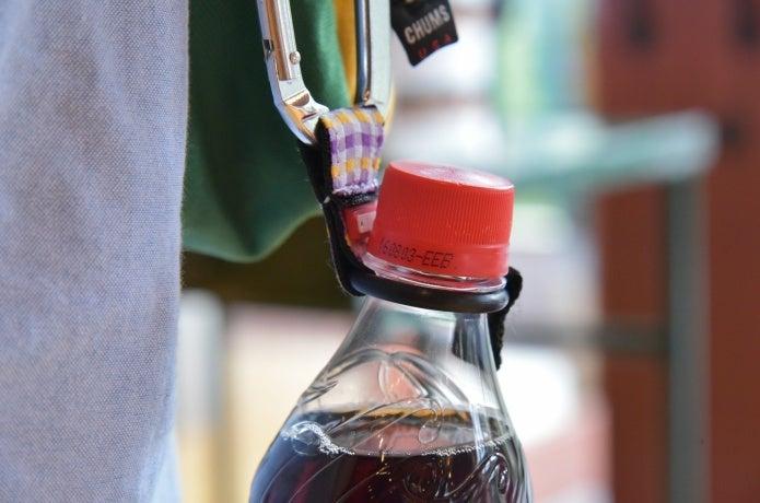 チャムスのボトルホルダー