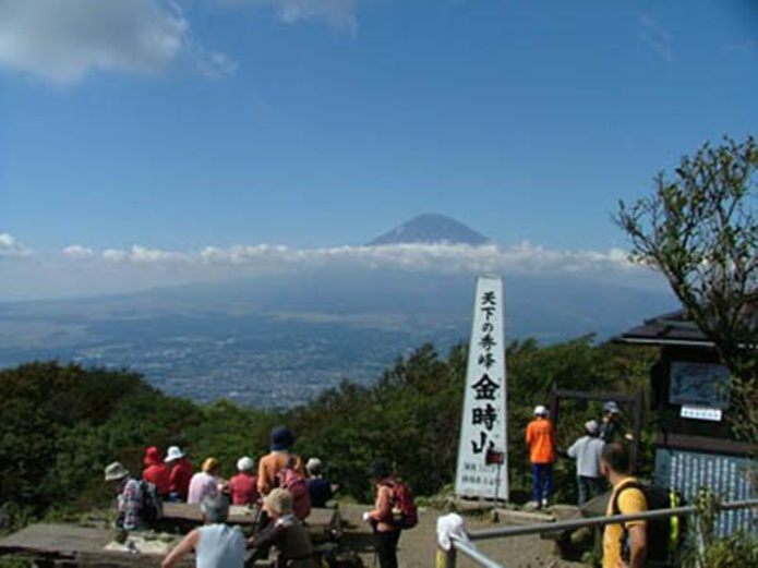 東京で登山ができる金時山