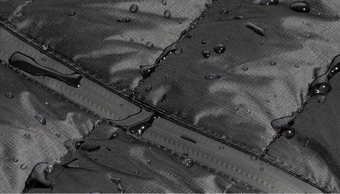 オーロラテックスライトの撥水性
