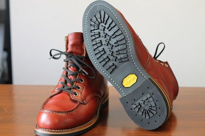 革靴についているビブラムソール