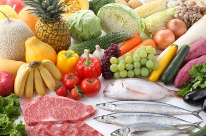 高カロリー食品の食材