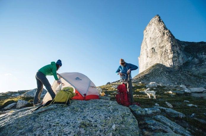 MSRのテント