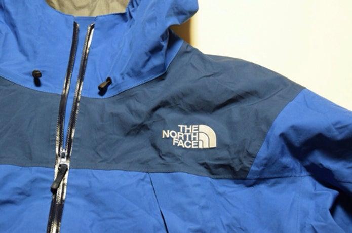 青いクライムライトジャケット
