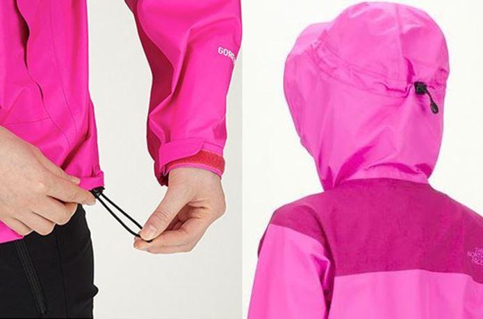 クライムライトジャケットの調節コード