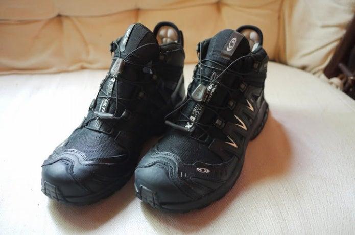 サロモンの登山靴