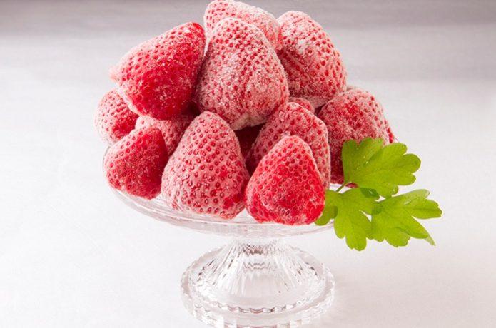 冷凍イチゴ