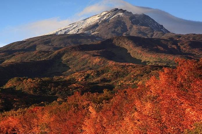 紅葉 登山 鳥海山2