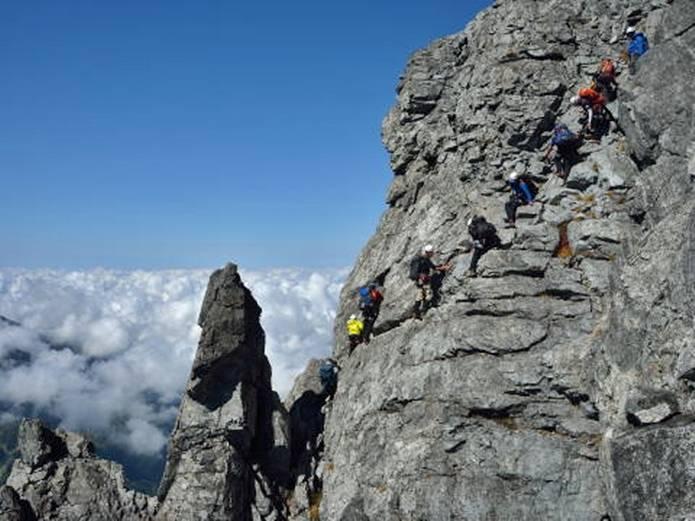 百名山難易度 上級 剱岳
