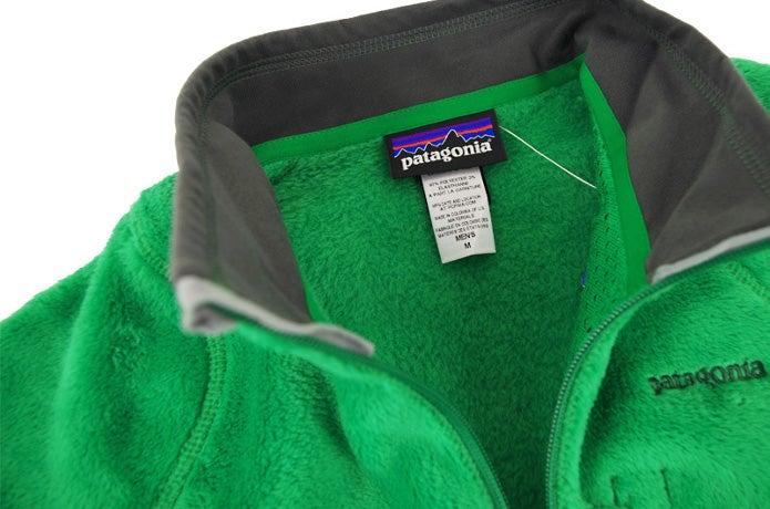 パタゴニアの緑のフリース