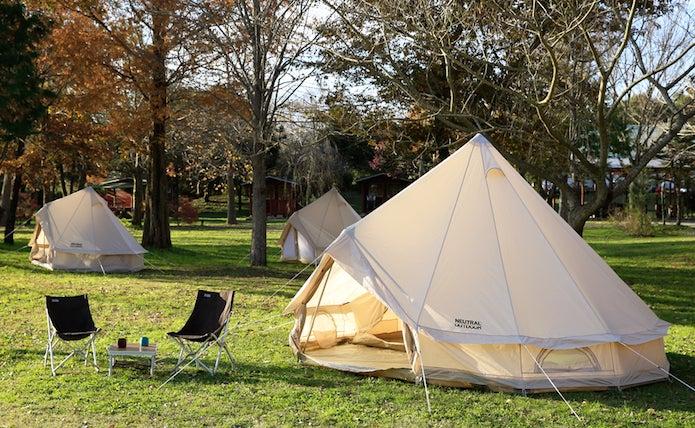 ティピー型のテント