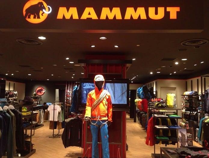 マムートの店舗概観