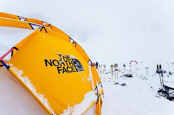 ノースフェイスのテント