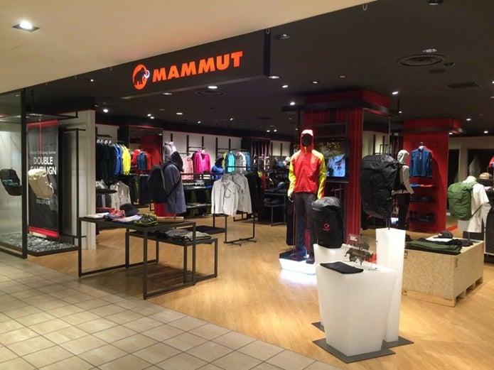 マムートの店舗