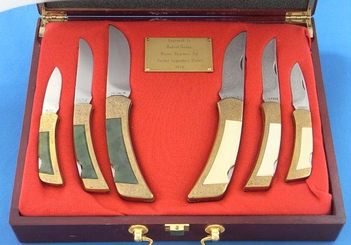 ガーバーのナイフ