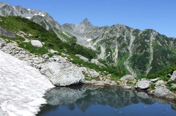 百名山の槍ヶ岳