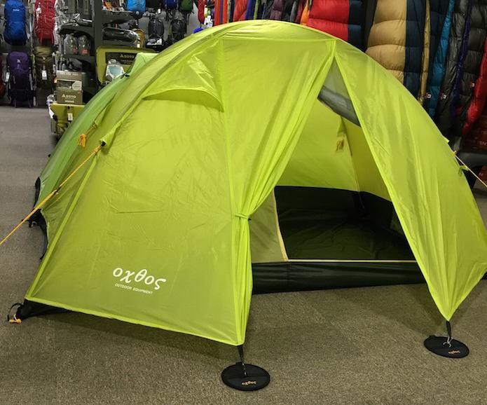 オクトスのテント