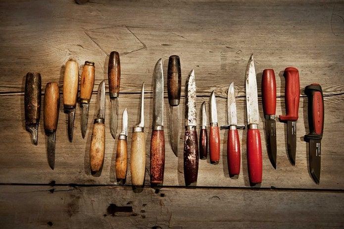 新旧様々なモーラナイフ