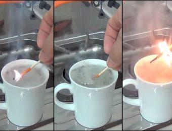 消えない防水マッチ