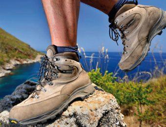 ザンバランの登山靴
